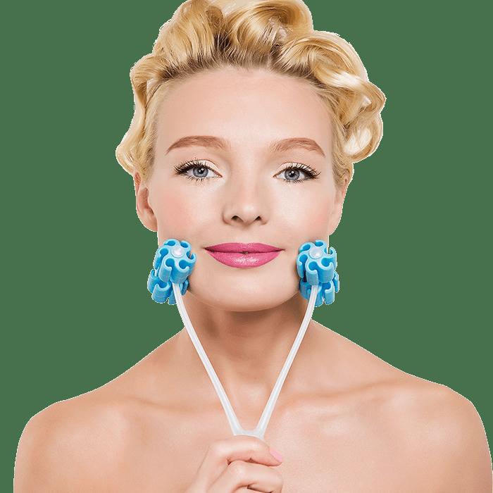 wałeczek do masażu twarzy 90151